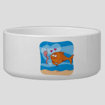 Fish and Bait in Love Bowl