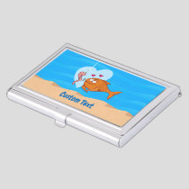 Fish and Bait in Love Case For Business Cards