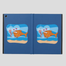 Fish and Bait in Love Case For iPad Air