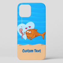 Fish and Bait in Love Case-Mate iPhone Case