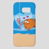Fish and Bait in Love Samsung Galaxy S7 Case