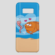Fish and Bait in Love Case-Mate Samsung Galaxy S8 Case