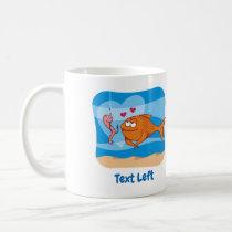 Fish and Bait in Love Coffee Mug