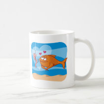 Fish and Bait in Love Coffee Mug