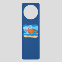 Fish and Bait in Love Door Hanger
