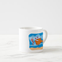 Fish and Bait in Love Espresso Cup