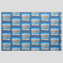 Fish and Bait in Love Fabric