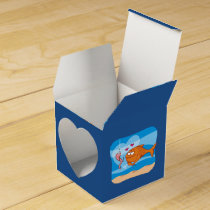 Fish and Bait in Love Favor Box