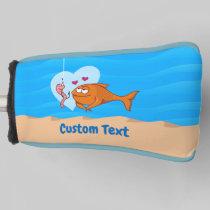Fish and Bait in Love Golf Head Cover
