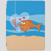 Fish and Bait in Love iPad Smart Cover
