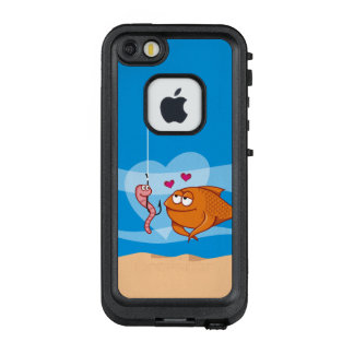 Fish and Bait in Love LifeProof® FRĒ® iPhone 5 Case