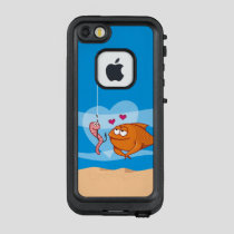 Fish and Bait in Love LifeProof FRĒ iPhone SE/5/5s Case