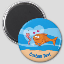 Fish and Bait in Love Magnet