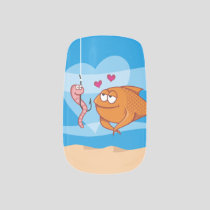 Fish and Bait in Love Minx Nail Wraps