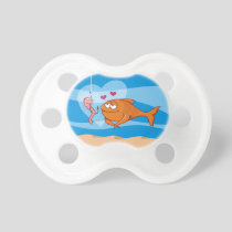 Fish and Bait in Love Pacifier