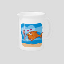 Fish and Bait in Love Pitcher