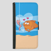 Fish and Bait in Love Samsung Galaxy S5 Wallet Case