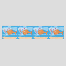 Fish and Bait in Love Short Table Runner