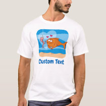 Fish and Bait in Love T-Shirt