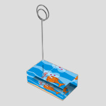 Fish and Bait in Love Table Number Holder