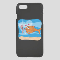 Fish and Bait in Love iPhone SE/8/7 Case