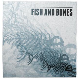 Fish And Bones Cloth Napkin