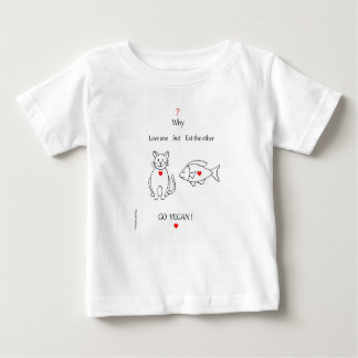 fish and cat baby T-Shirt
