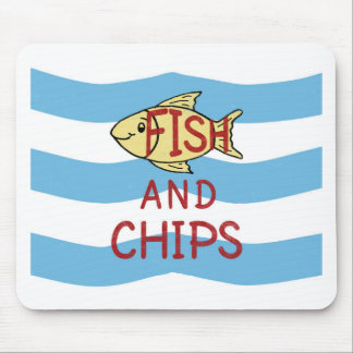 Fish and Chips 2 Mouse Pad