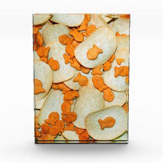 Fish And Chips Acrylic Award