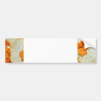 Fish And Chips Car Bumper Sticker