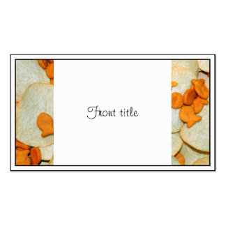 Fish And Chips Business Card Templates