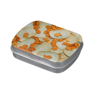 Fish And Chips Candy Tin