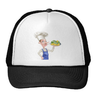 Fish and Chips Chef Trucker Hat