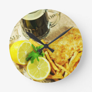 Fish and chips clock