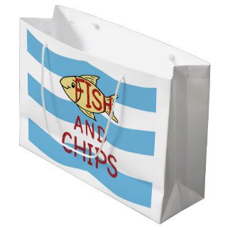 Fish and Chips Large Gift Bag