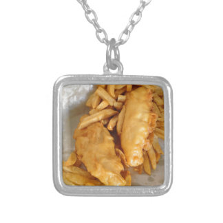 Fish and Chips Custom Necklace
