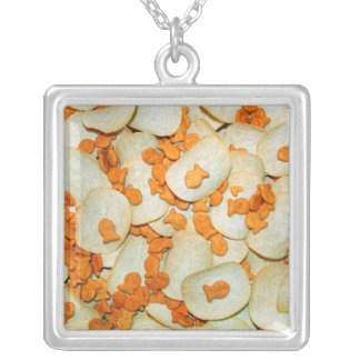 Fish And Chips Personalized Necklace