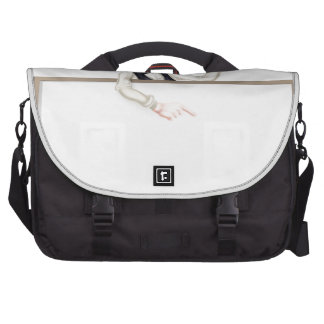 Fish and Chips Restaurant Signboard Laptop Bag