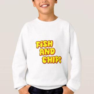 fish and chips sweatshirt
