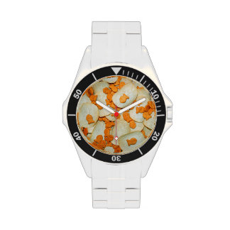 Fish And Chips Wrist Watches