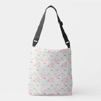 Fish and Coral Pattern Tote Bag