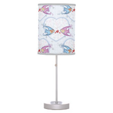 Fish and Hearts Lamp