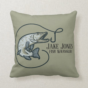 Trout Decorative Throw Pillows Zazzle