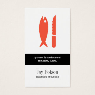 Fish and Knife Business Card