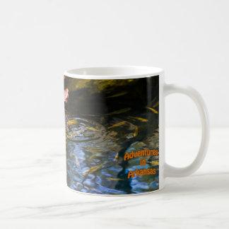 """Fish and Leaves"" Coffee Mug"