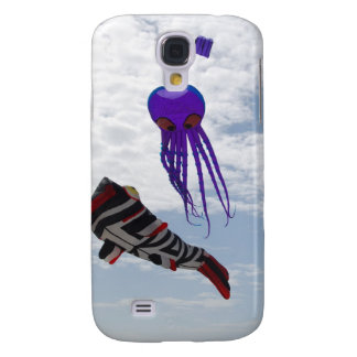 Fish and Octopus Kites Samsung Galaxy S4 Case