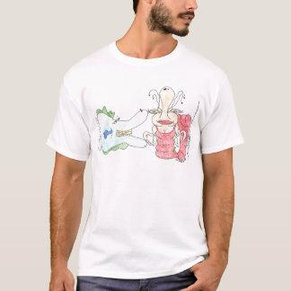 Fish and Shrimp by Miss Shrimpie T-Shirt