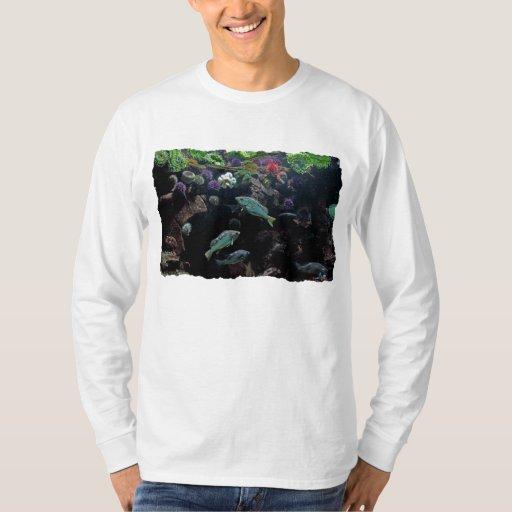 Fish and Underwater Aquatic Life Photo T-shirt
