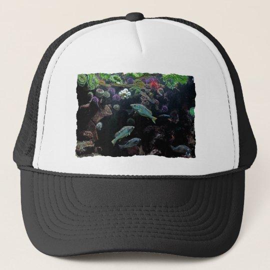Fish and Underwater Aquatic Life Photo Trucker Hat