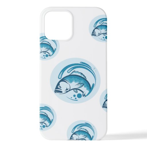 fish and water image phone cases. iPhone 12 case
